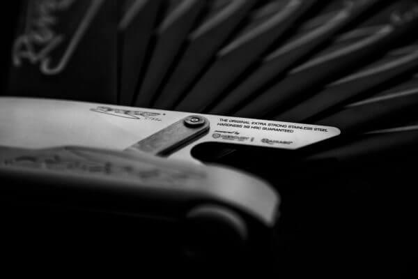 Il coltello Reverso Knife by Reverso Ideas - Coltello professionale da cucina modulare multilama Made in Italy