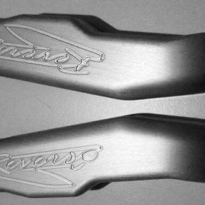 Manico antiscivolo del coltello Reverso Knife by Reverso Ideas - Coltello modulare a lame intercambiabili Made in Italy